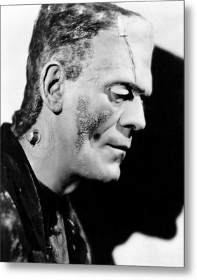 Frankenstein, Boris Karloff, 1931 Metal Print by Everett
