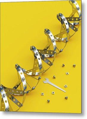 Genetic Engineering Metal Print by David Parker