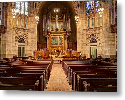 Hennepin Avenue Methodist Church Metal Print by Amanda Stadther