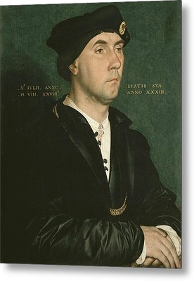 Holbein, Hans, The Younger 1497-1547 Metal Print by Everett