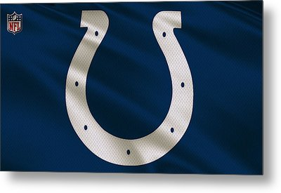 Indianapolis Colts Uniform Metal Print