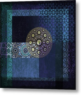 Islamic Motives Metal Print