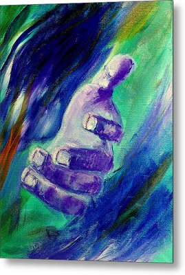Jesus Loves You Metal Print by Amanda Dinan