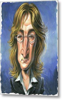 John Lennon Metal Print by Art