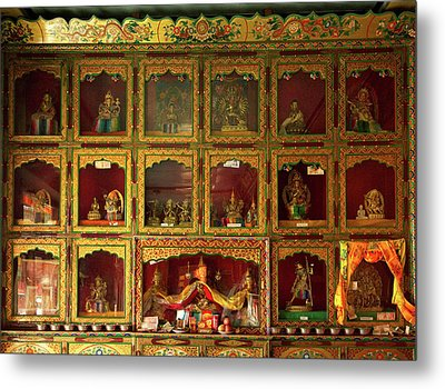 Ladakh, India The Interior Metal Print by Jaina Mishra