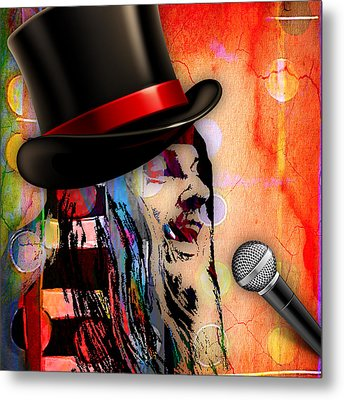 Leon Russell Collection Metal Print