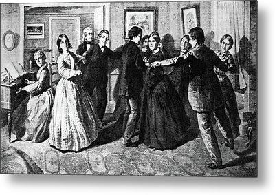 Louisa May Alcott (1832-1888) Metal Print by Granger