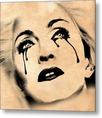 Madonna  Metal Print by Mark Ashkenazi