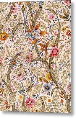 Marble End Paper  Metal Print by William Kilburn