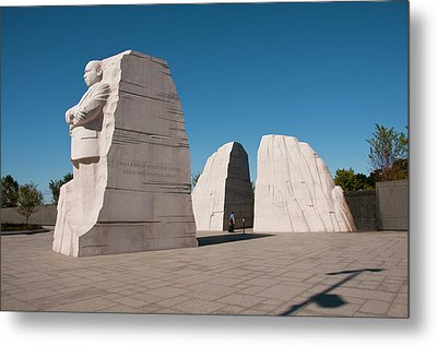 Martin Luther King Jr Memorial Metal Print by Lee Foster