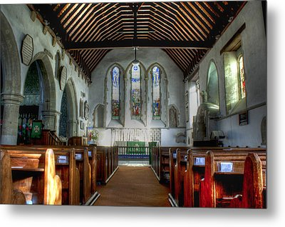 Minster Abbey Metal Print by Dave Godden