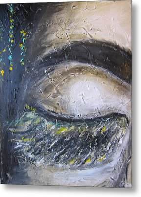 Metal Print featuring the painting 5 More Minutes by Lucy Matta