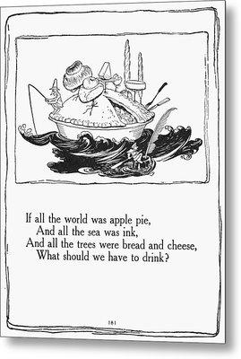 Mother Goose, 1913 Metal Print by Granger