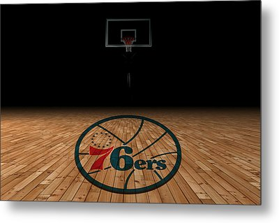 Philadelphia 76ers Metal Print by Joe Hamilton