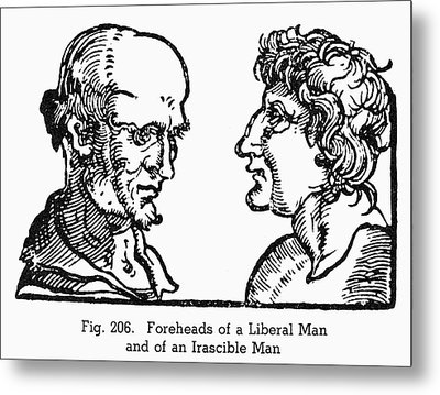 Physiognomy, 1533 Metal Print by Granger