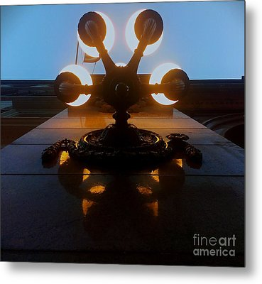 Metal Print featuring the photograph 5 Points Of Light by James Aiken