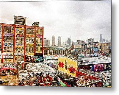 5 Pointz In Itz Prime Metal Print by Nishanth Gopinathan
