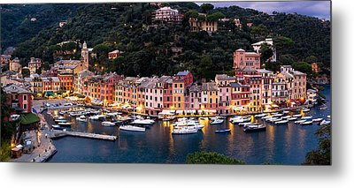 Portofino Italy Metal Print by Carl Amoth