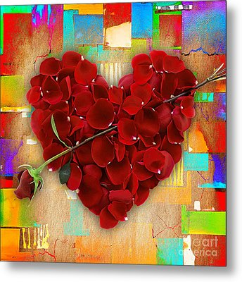 Roses Collection Metal Print by Marvin Blaine