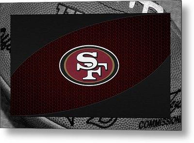 San Francisco 49ers Metal Print by Joe Hamilton