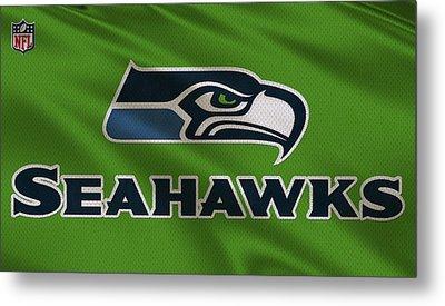 Seattle Seahawks Uniform Metal Print