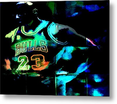 Metal Print featuring the digital art 5 Seconds Left by Brian Reaves