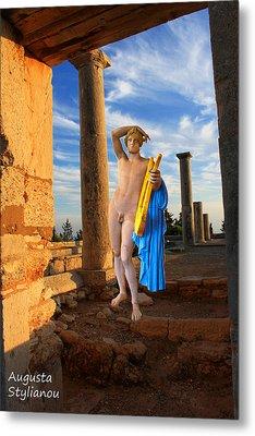 Temple Of Apollo  Metal Print by Augusta Stylianou