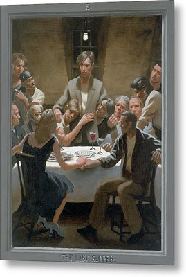 5. The Last Supper / From The Passion Of Christ - A Gay Vision Metal Print by Douglas Blanchard