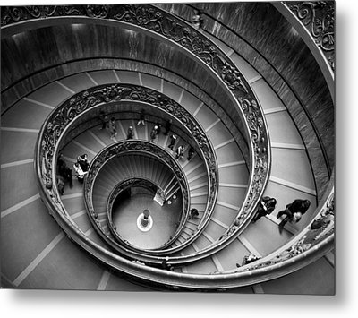 The Vatican Stairs Metal Print by Jouko Lehto