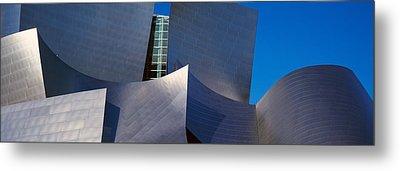 Walt Disney Concert Hall, Los Angeles Metal Print by Panoramic Images