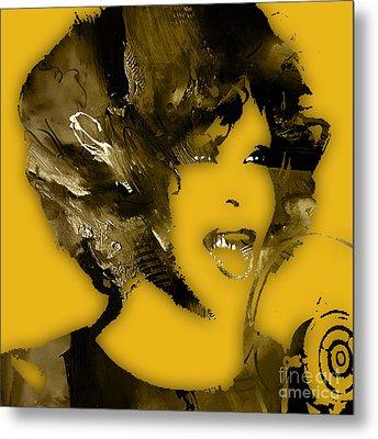 Whitney Houston Collection Metal Print