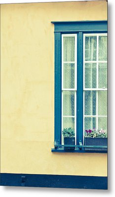 Window  Metal Print by Tom Gowanlock