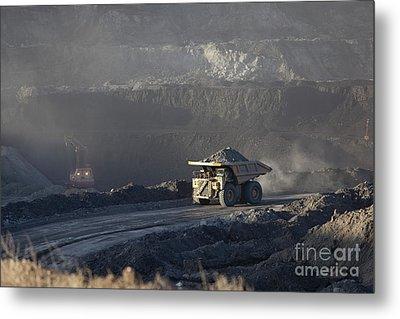 Wyoming Coal Mine Metal Print