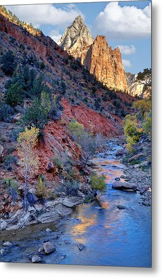 Zion National Park Metal Print by Utah Images