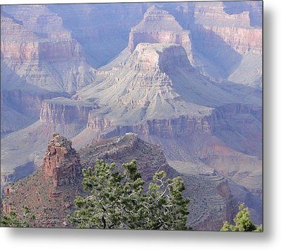 50 Shades Of Purple In The Grand Canyon Metal Print