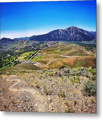 Instagram Photo Metal Print by Cody Haskell