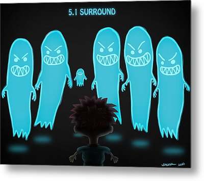 5.1 Surround Metal Print by Sasank Gopinathan