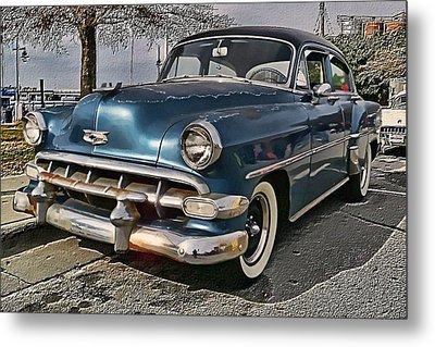 '54 Chevy Metal Print by Victor Montgomery
