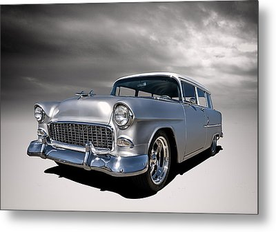 '55 Handyman Wagon Metal Print by Douglas Pittman