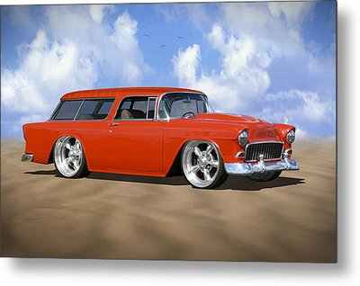 55 Nomad Metal Print by Mike McGlothlen