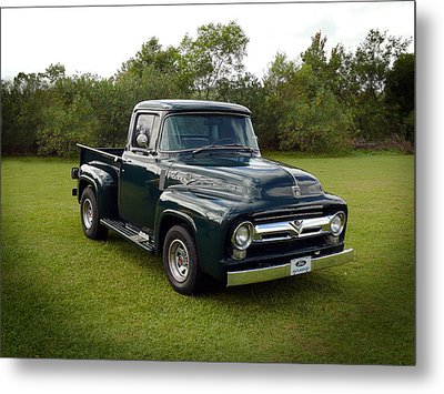 Metal Print featuring the photograph 56 F100 by Keith Hawley