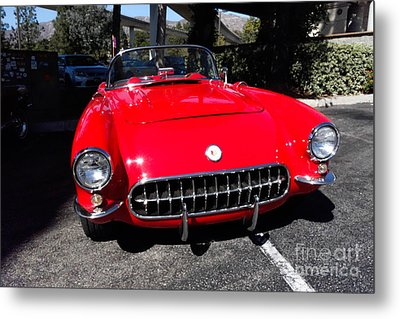 57 Chevy Metal Print by Nina Prommer