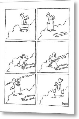 New Yorker January 3rd, 2005 Metal Print by Jack Ziegler
