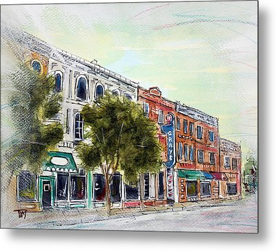 5am In Franklin Metal Print by Tim Ross