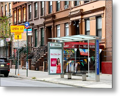 5th Ave And West 132nd Street Metal Print