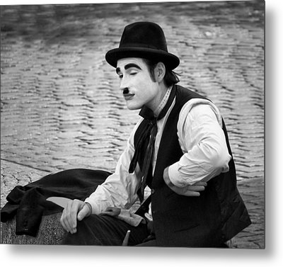 6 - Anything Else - French Mime Metal Print