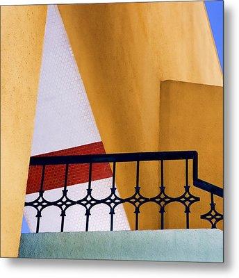 Architectural Detail Metal Print by Carol Leigh