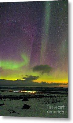 Aurora Borealis, Lapland, Sweden Metal Print by Babak Tafreshi, Twan