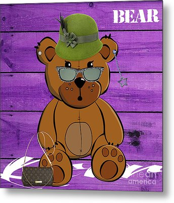 Baby Bear Collection Metal Print by Marvin Blaine