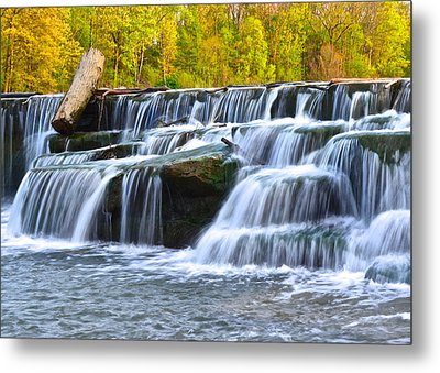 Berea Falls Metal Print by Frozen in Time Fine Art Photography
